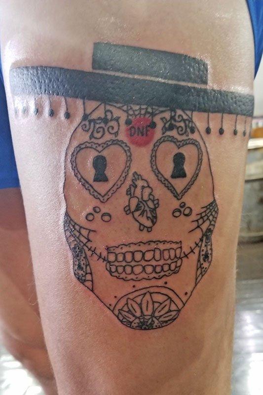 Tim Unrath's DB Tattoo